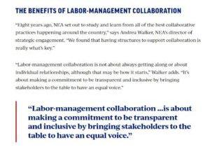 Collaboration NEA